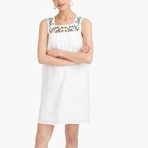 NWT Embroidered square neck dress